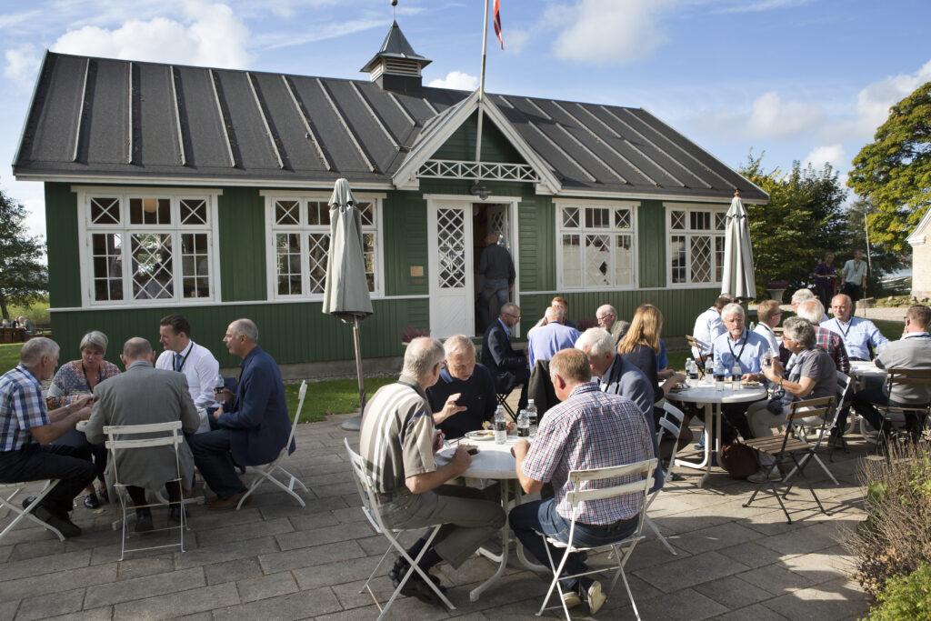 Reception på Vestermølle